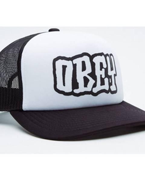 Čierna čiapka Obey