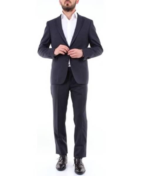 Modrý oblek Tagliatore