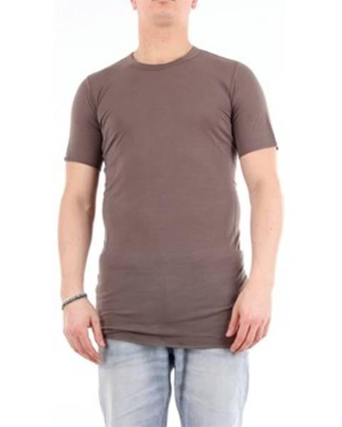 Hnedé tričko Rick Owens