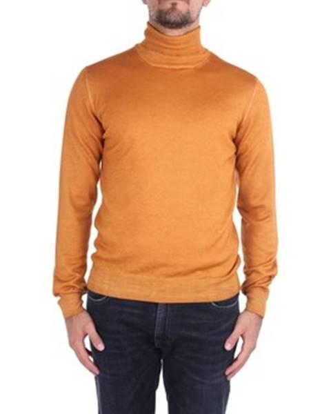 Oranžový sveter La Fileria