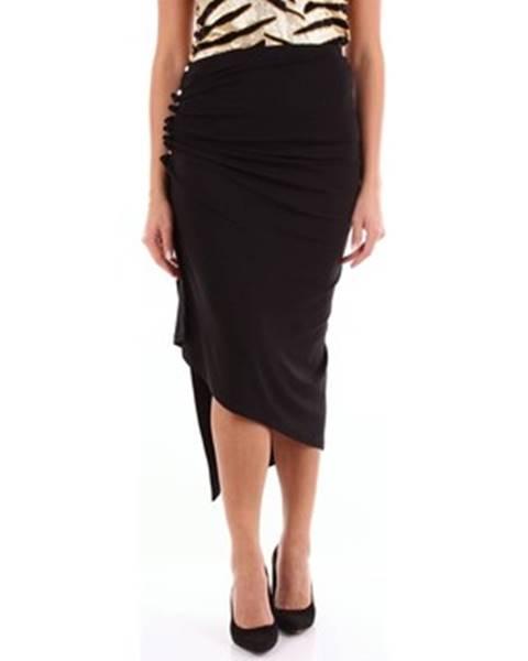Čierna sukňa Paco Rabanne