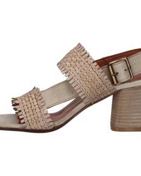 Béžové sandále Zoe