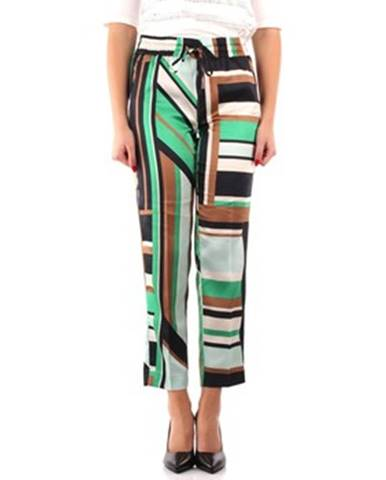 Zelené nohavice Emme Marella