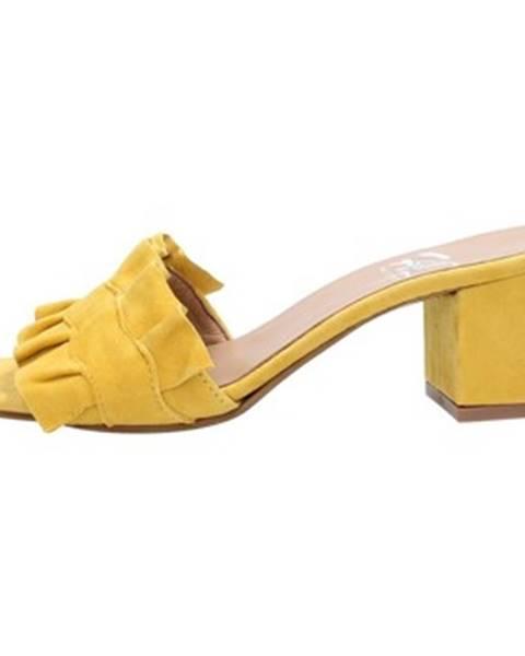 Žlté sandále Hl - Helen