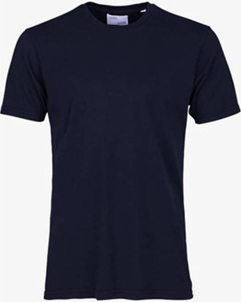 Modré tričko Colorful Standard