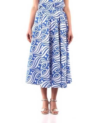 Modrá sukňa Niu'