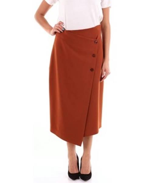 Hnedá sukňa Altea