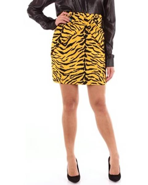 Viacfarebná sukňa Saint Laurent