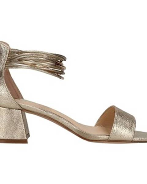 Zlaté sandále Café Noir