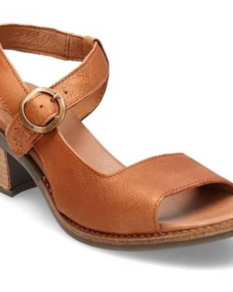 Hnedé sandále Fly London