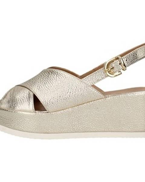 Zlaté sandále Tres Jolie