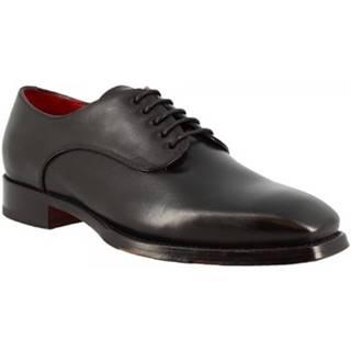 Derbie Leonardo Shoes  9574E20 TOM MONTECARLO NERO