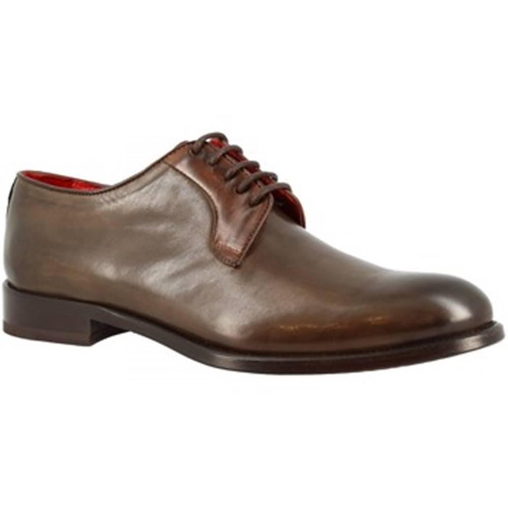 Leonardo Shoes Derbie Leonardo Shoes  9469E20 TOM MONTECARLO TAUPE