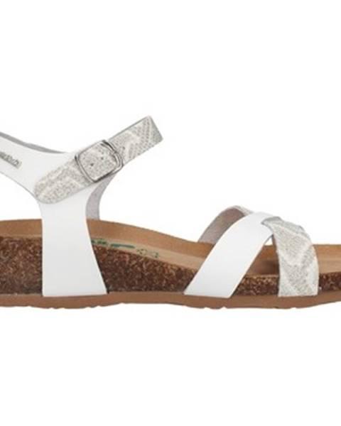 Biele sandále Bionatura