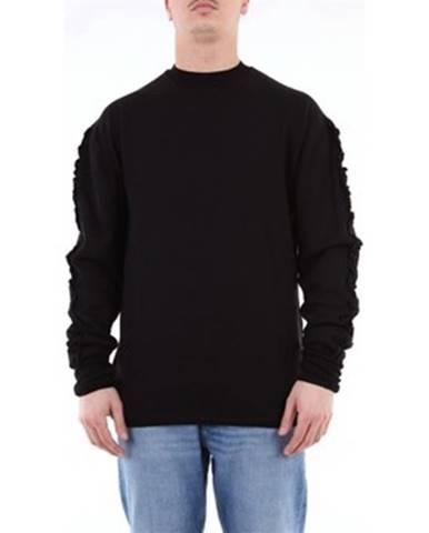 Čierny sveter Fabrizio Del Carlo