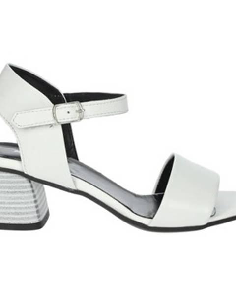 Biele sandále Keys
