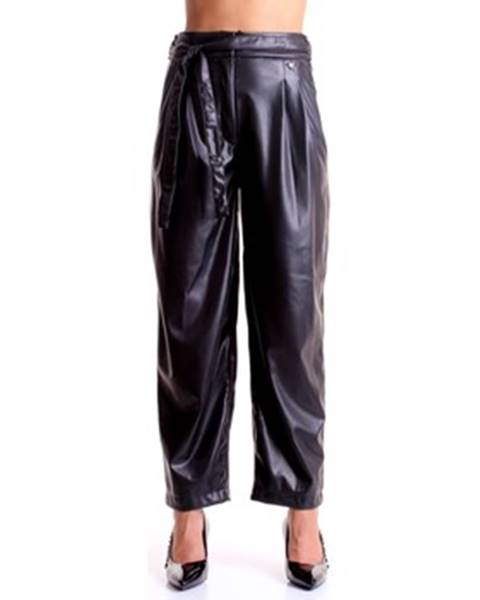 Čierne nohavice Twinset Mytwin