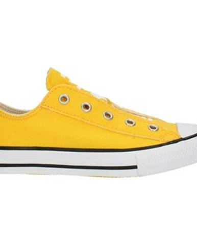 Žlté espadrilky Converse