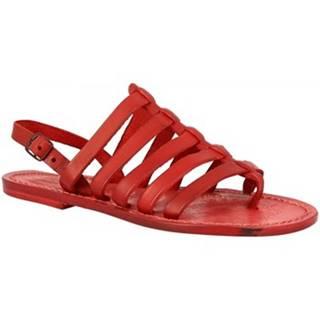 Sandále Leonardo Shoes  576 ROSSO