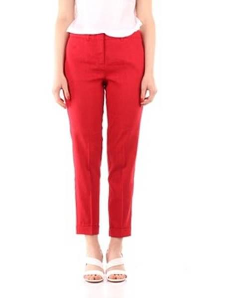 Červené chino nohavice Marella