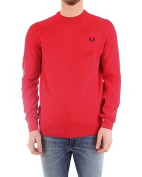 Červený sveter Fred Perry