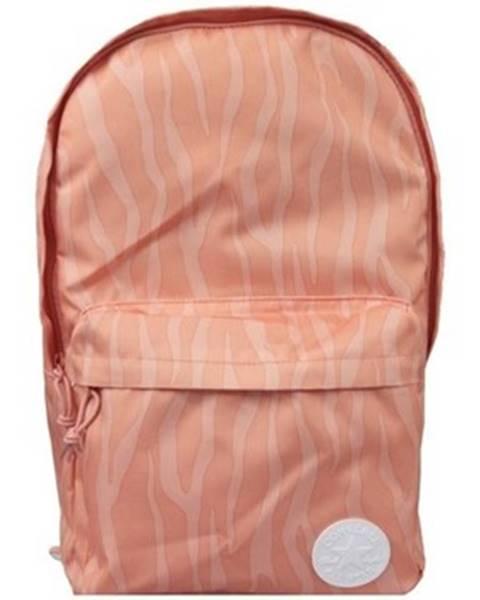 Oranžový batoh Converse