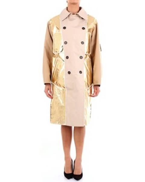Viacfarebný kabát N°21
