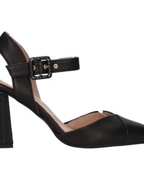 Čierne sandále Paola Ferri