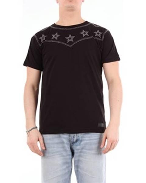 Čierne tričko Messagerie