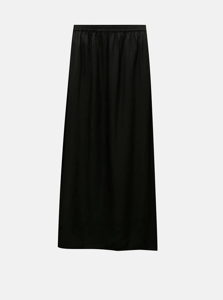 .object Čierna maxi sukňa .OBJECT Eileen