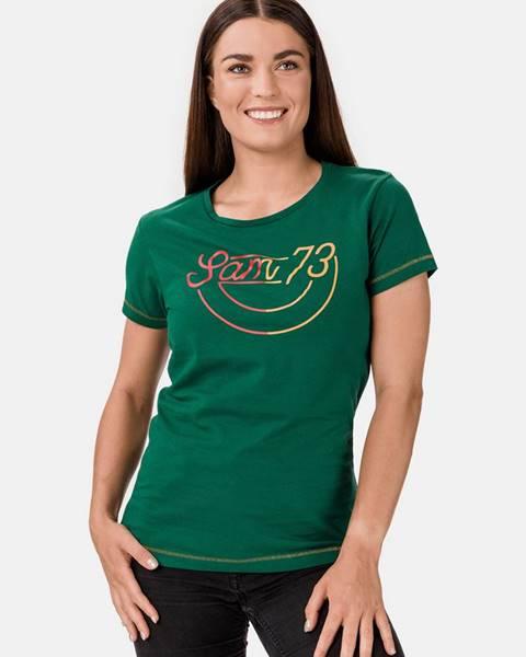 Zelené tričko SAM 73