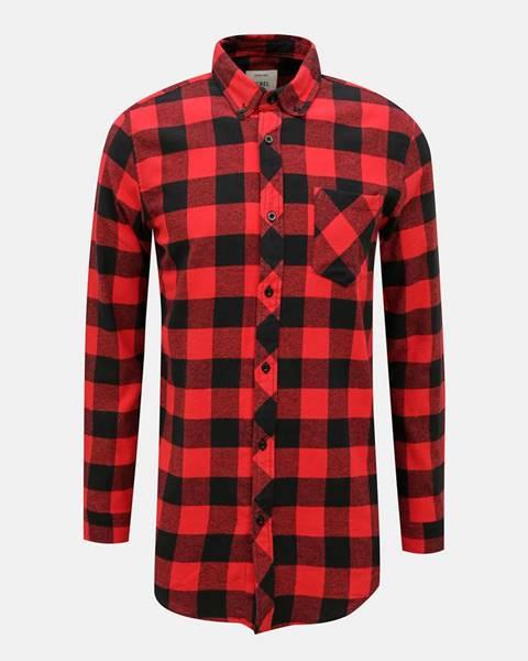 Červená košeľa redefined rebel
