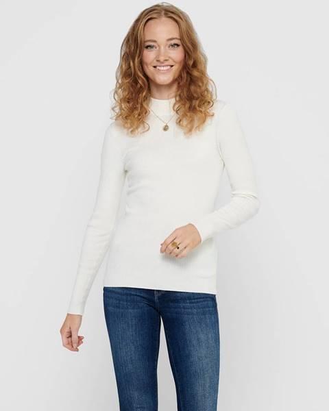 Krémové tričko Jacqueline de Yong