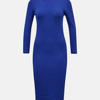 Modré svetrové šaty Jacqueline de Yong Kate