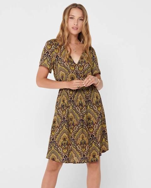 Hnedé šaty Only