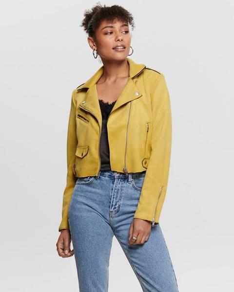 Žltá bunda Only
