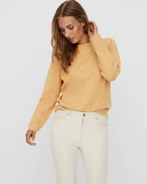 Žltá mikina Vero Moda
