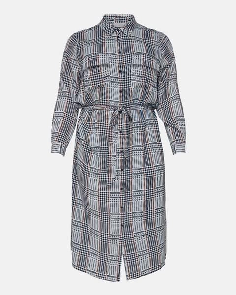 Sivé šaty ONLY CARMAKOMA