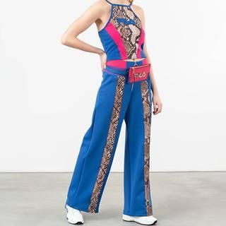 FILA Nero Kaoru Cropped Top Royal Blue/ Gold Snake