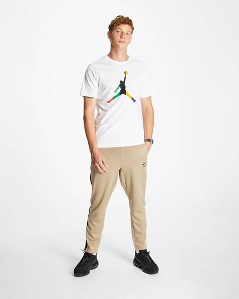 Zelené nohavice Nike