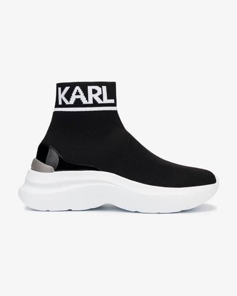 členková obuv Karl Lagerfeld