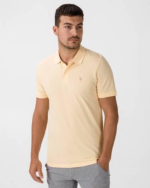 Žlté tričko Jack & Jones