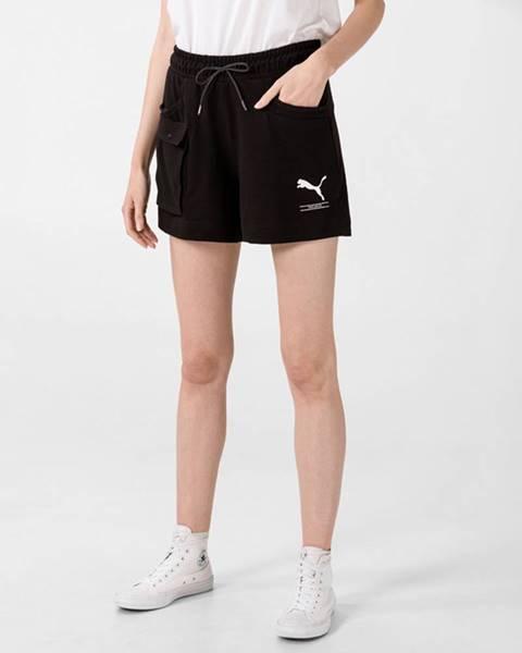 Čierne šortky Puma