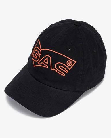 Čierna čiapka Gas