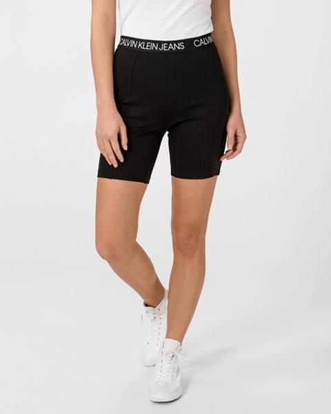 Čierne šortky Calvin Klein