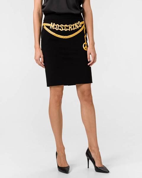 Čierna sukňa Moschino