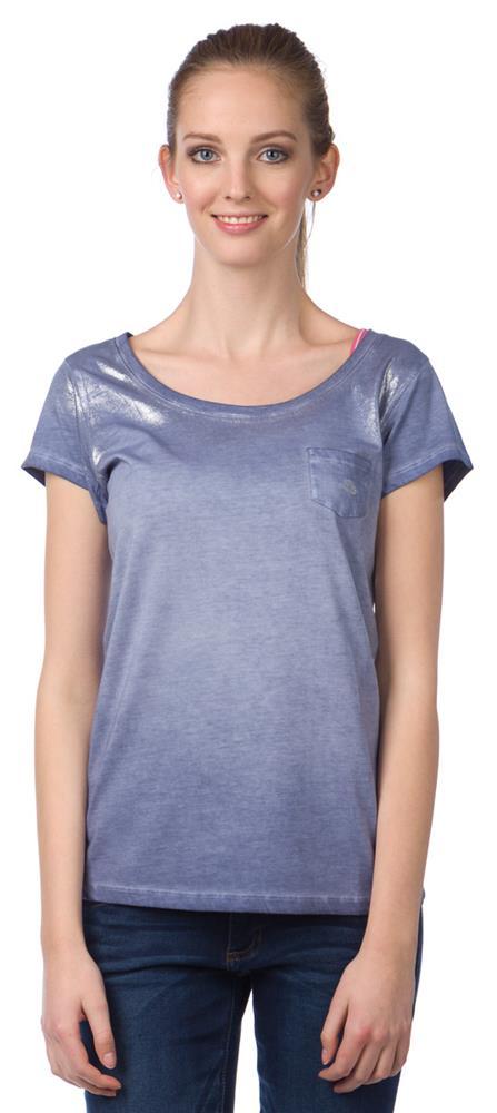 a1c610ab1c85 Dámske tričko 6053 1478 aw15 modrá značky MUSTANG