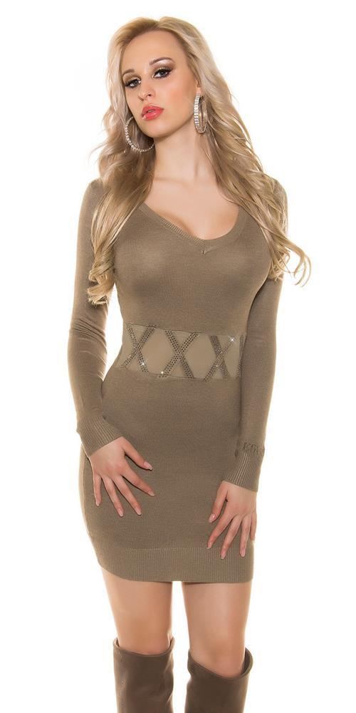 2f50c80b563a Sexy dámske úpletové šaty značky KOUCLA