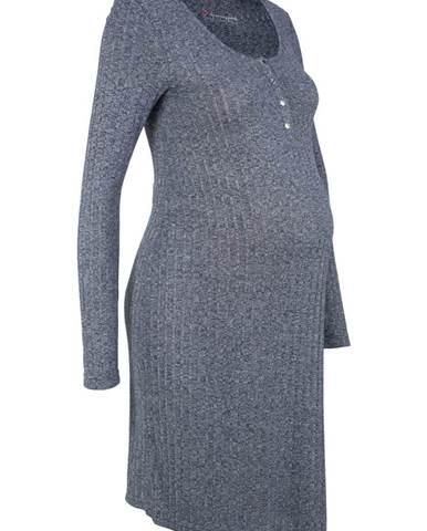 Tehotenské úpletové šaty Kojenecké úpletové šaty fd80beddda6