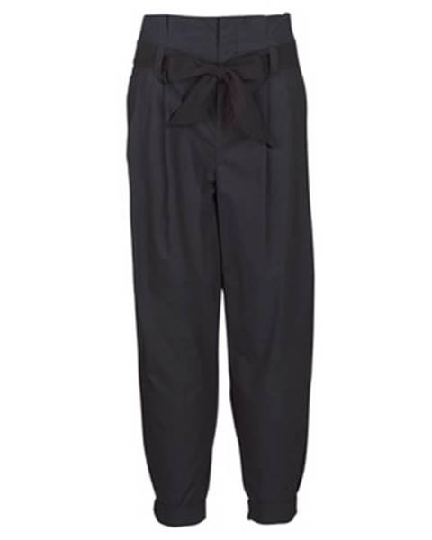Nohavice päťvreckové Maison Scotch  LONG BLACK PANT